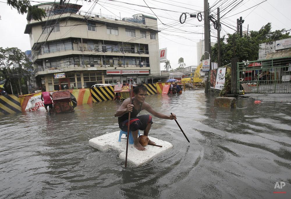 Philippines Asia Typhoon