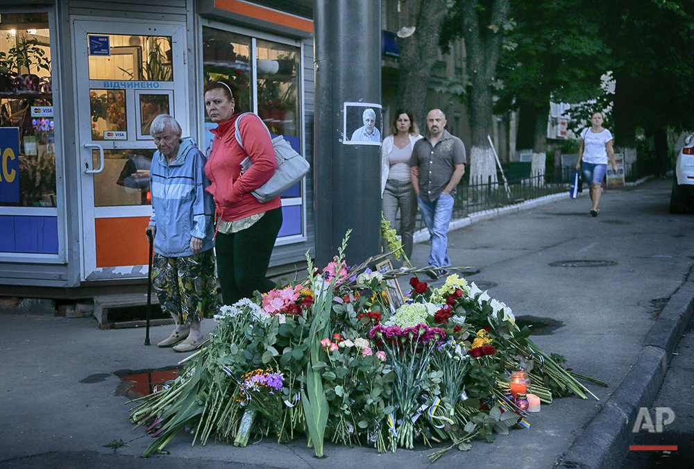 Ukraine Journalist Killed
