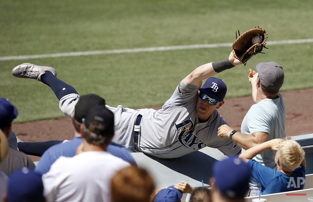 Rays Dodgers Baseball