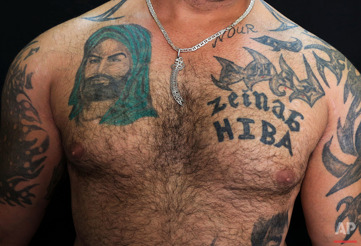 Lebanon Shiite Tattoos Ap Images Spotlight