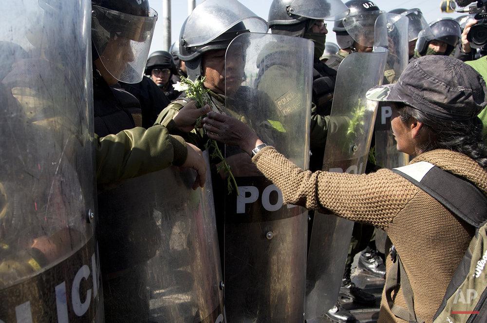 Bolivia Protest