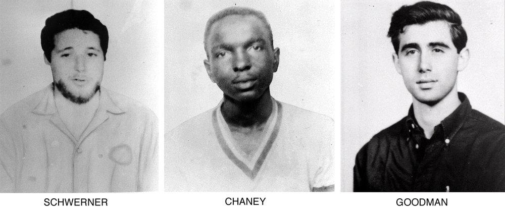 FREEDOM SUMMER MURDERS 1964