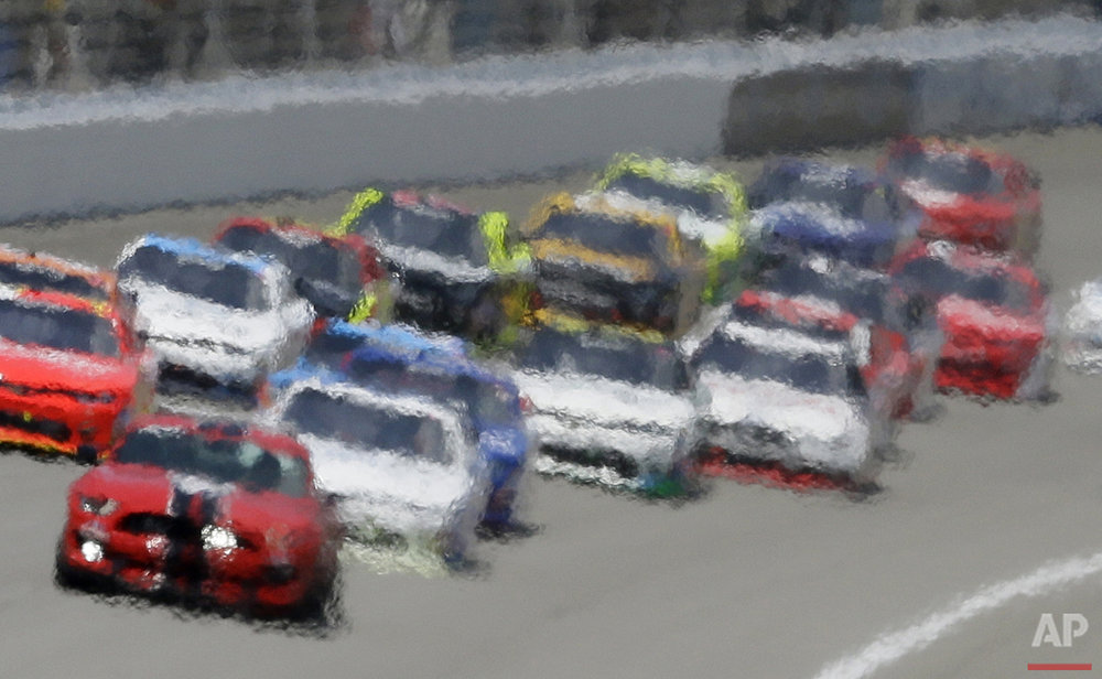 NASCAR Michigan Xfinity Auto Racing