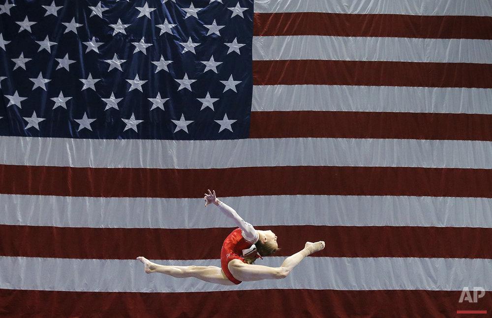 APTOPIX US Womens Gymnastics Championships