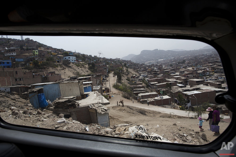 Peru Shanty Town Tourism Photo Gallery