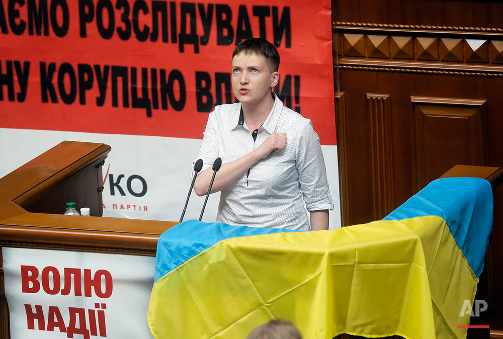 Ukraine Savchenko
