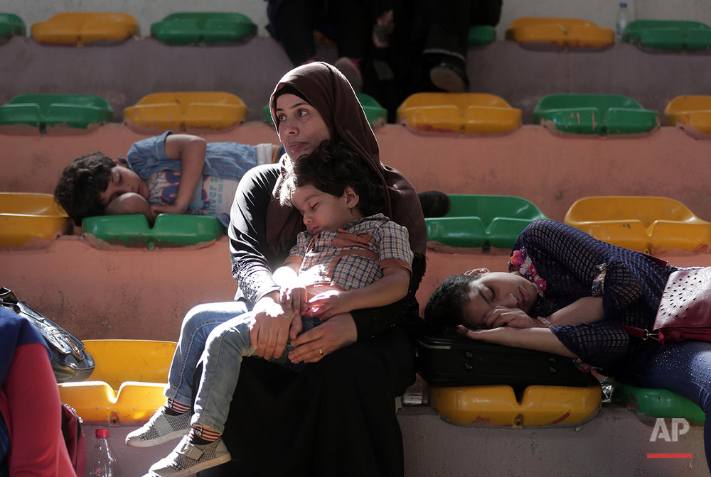 Mideast Gaza Egypt