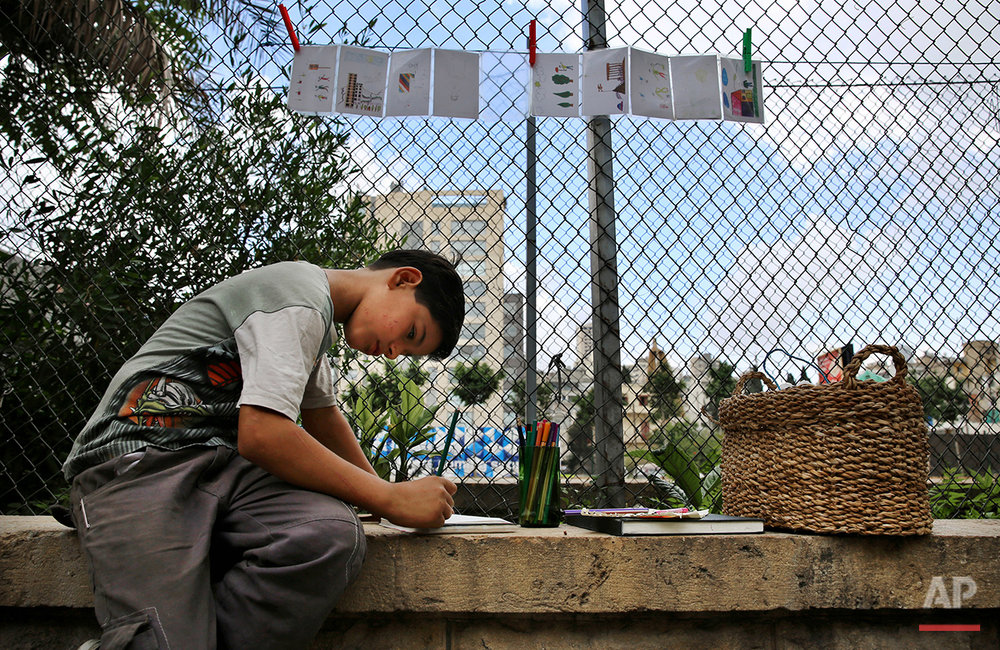 Mideast Lebanon Refugees Child Labor Photo Gallery