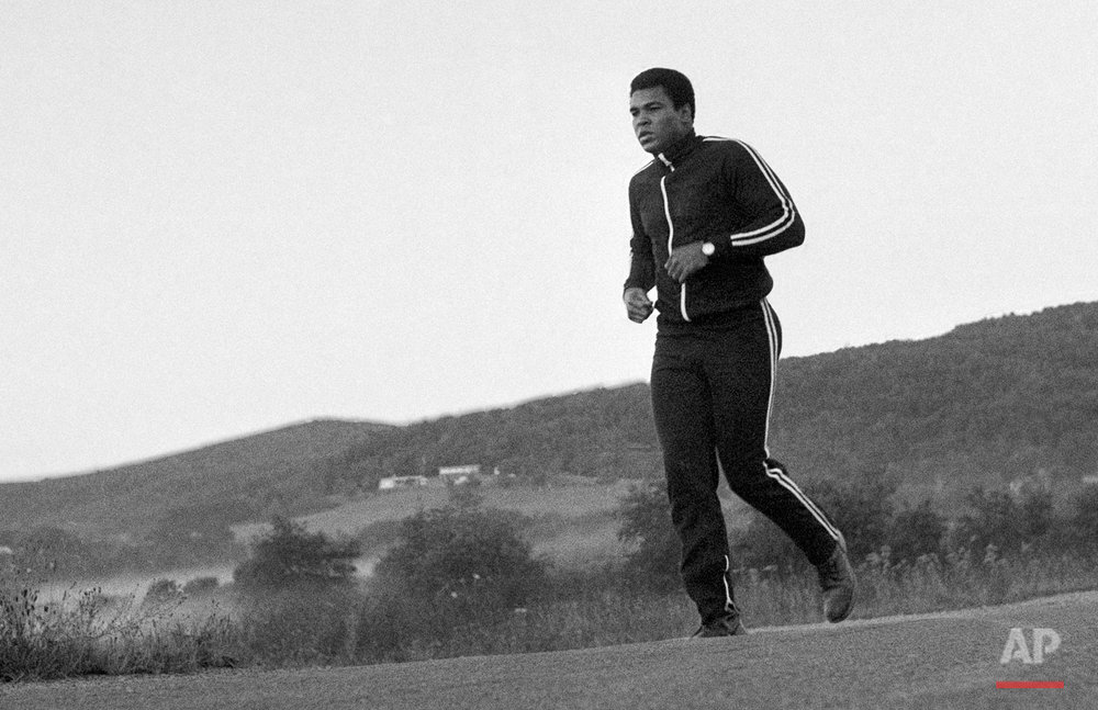 Ali Training Camp 1978