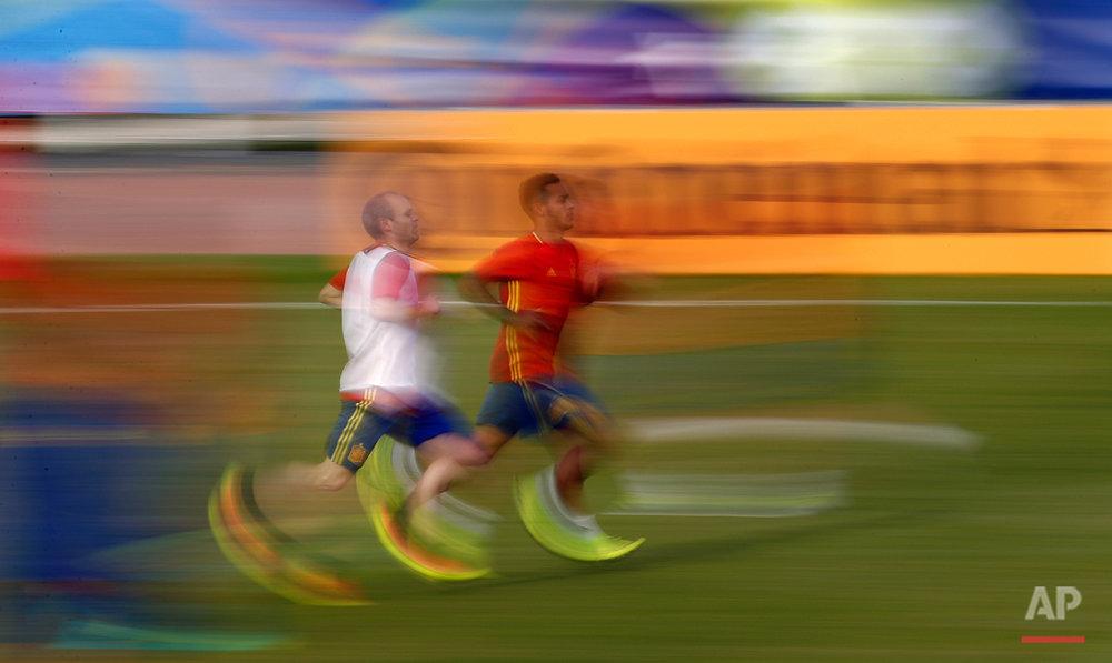Soccer Euro 2016 Spain