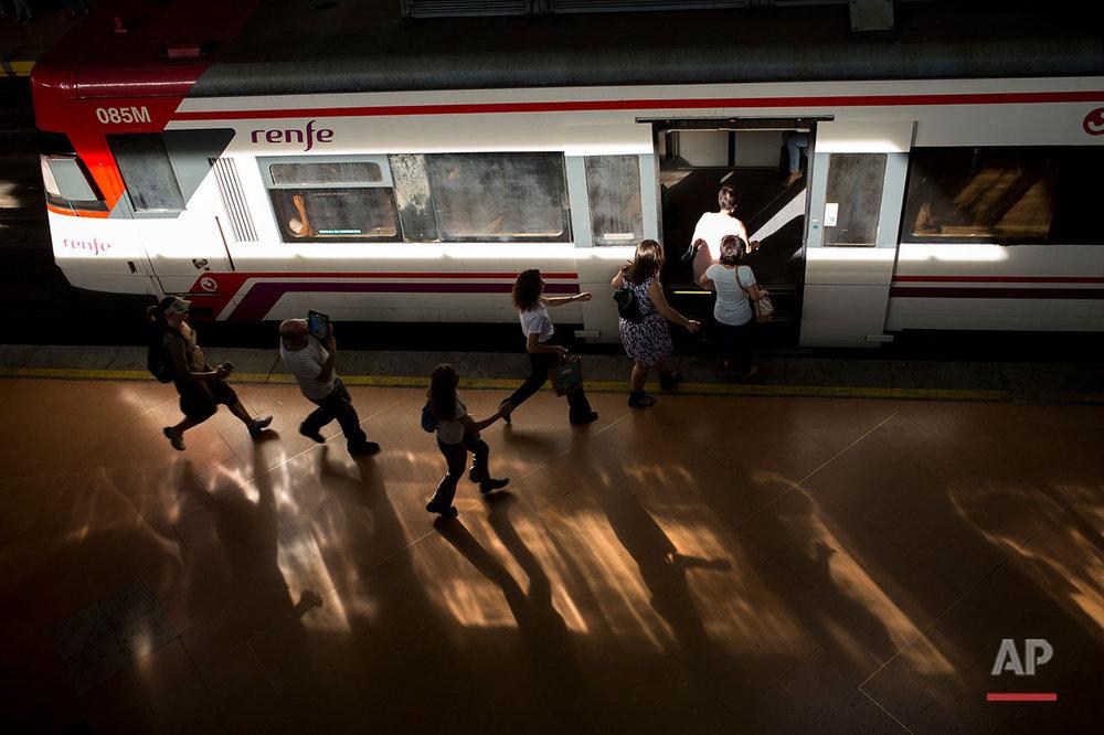 Spain Train Strike