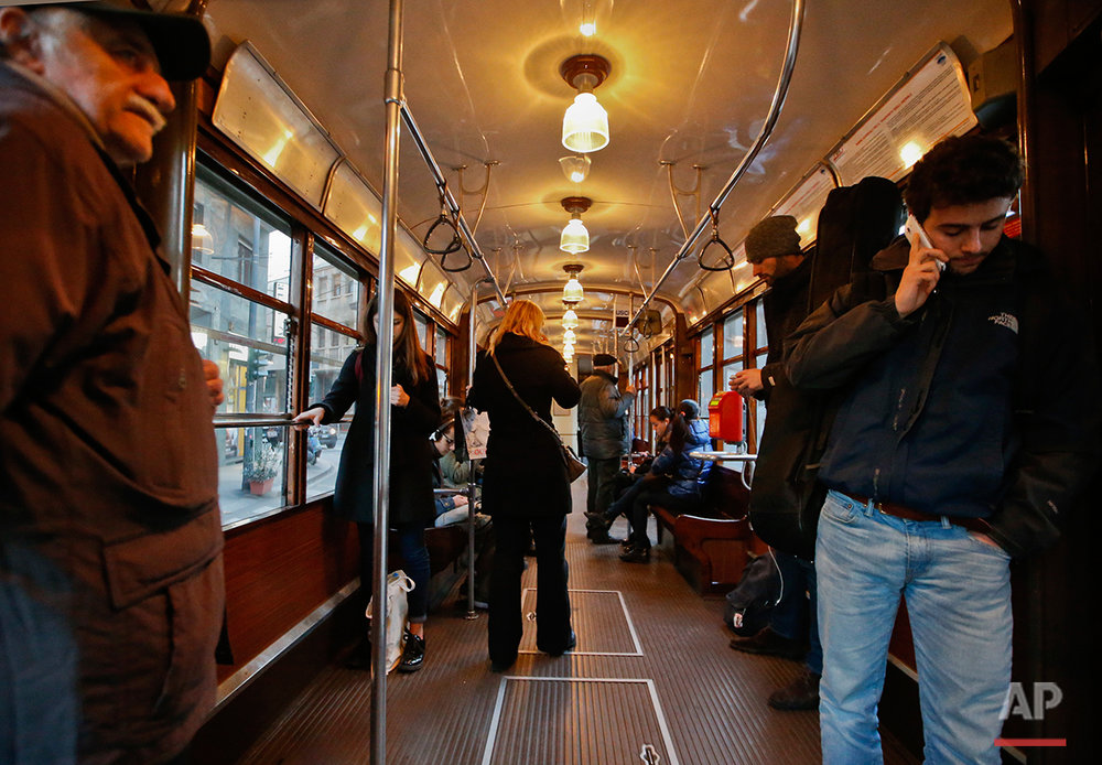 Italy Vintage Trams Photo Essay