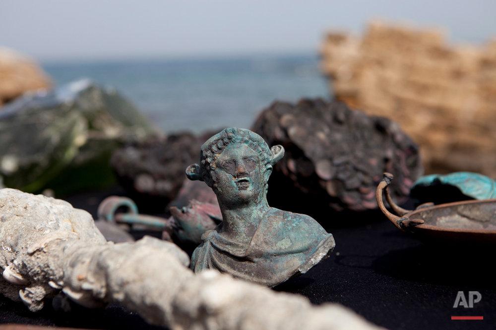 Mideast Israel Roman Treasure