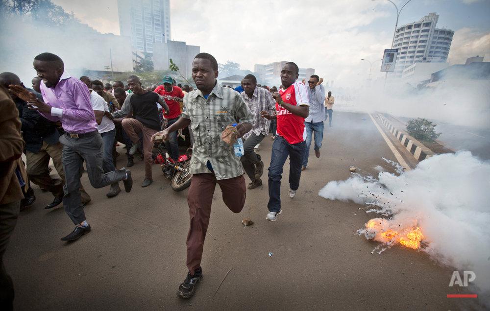 Kenya Violent Demonstrations