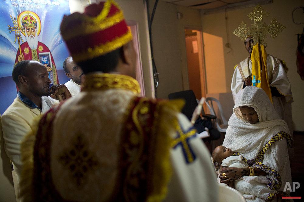 Mideast Israel Eritrean Churches Photo Essay