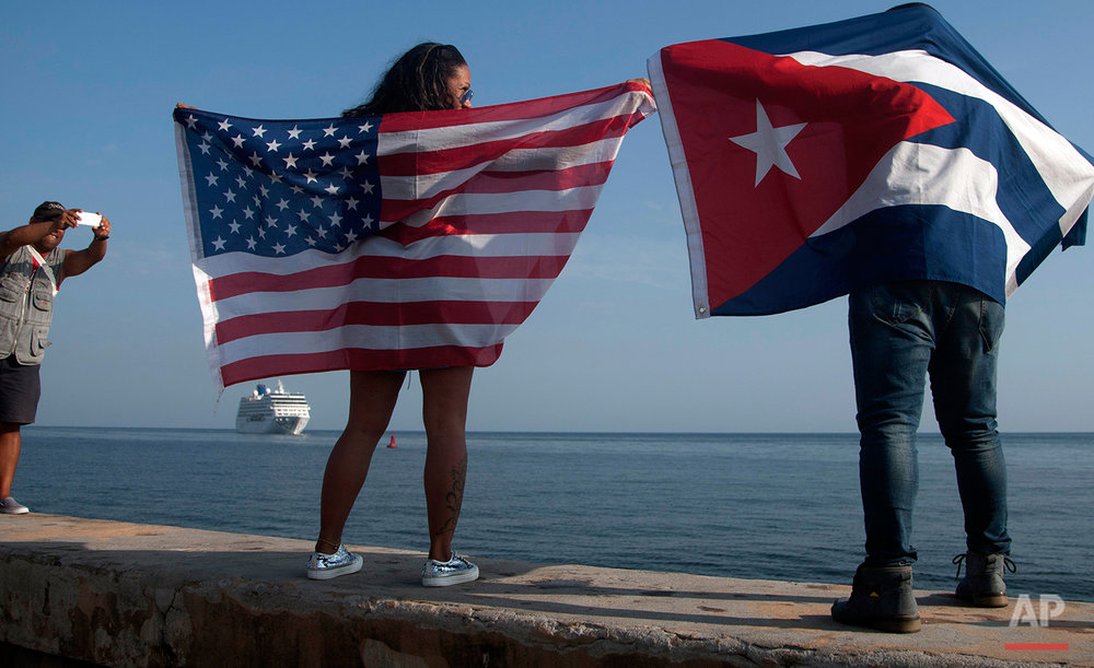 APTOPIX Cuba Cruises