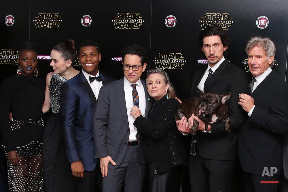 APTOPIX Britain Star Wars The Force Awakens Premiere