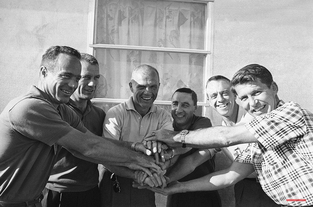 Astronauts 1962