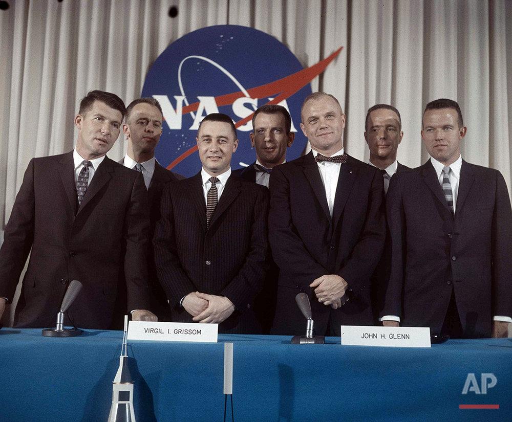 Mercury Astronauts 1959