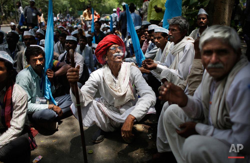 APTOPIX India Water Protest