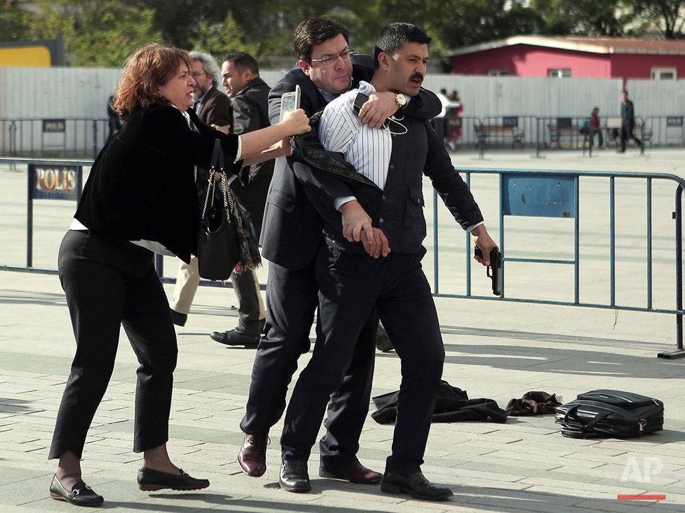 Turkey Journalist Attacked