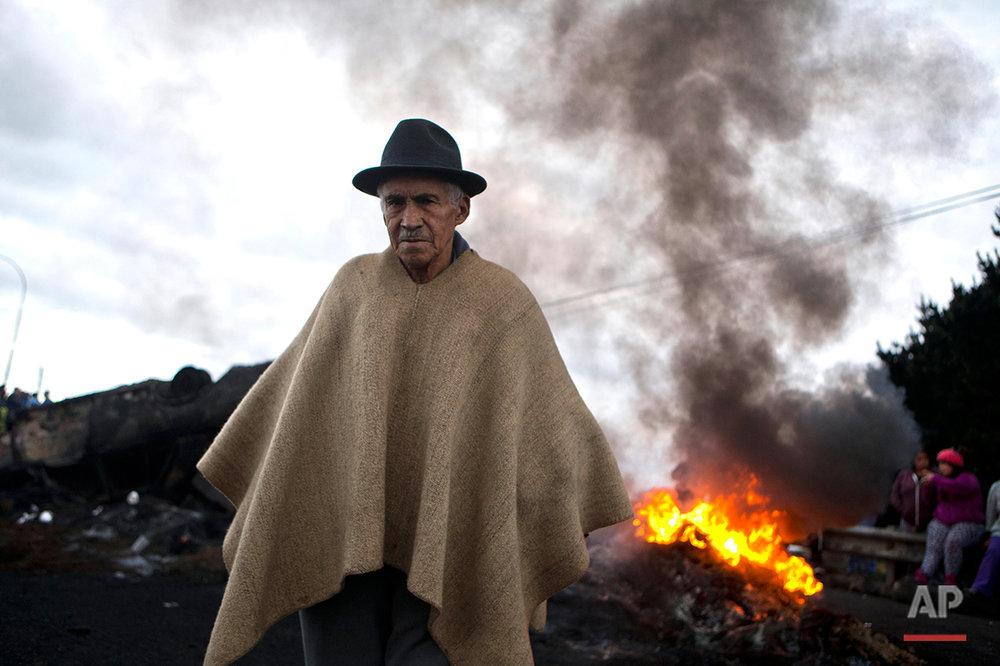 Chile Fishermen Protest