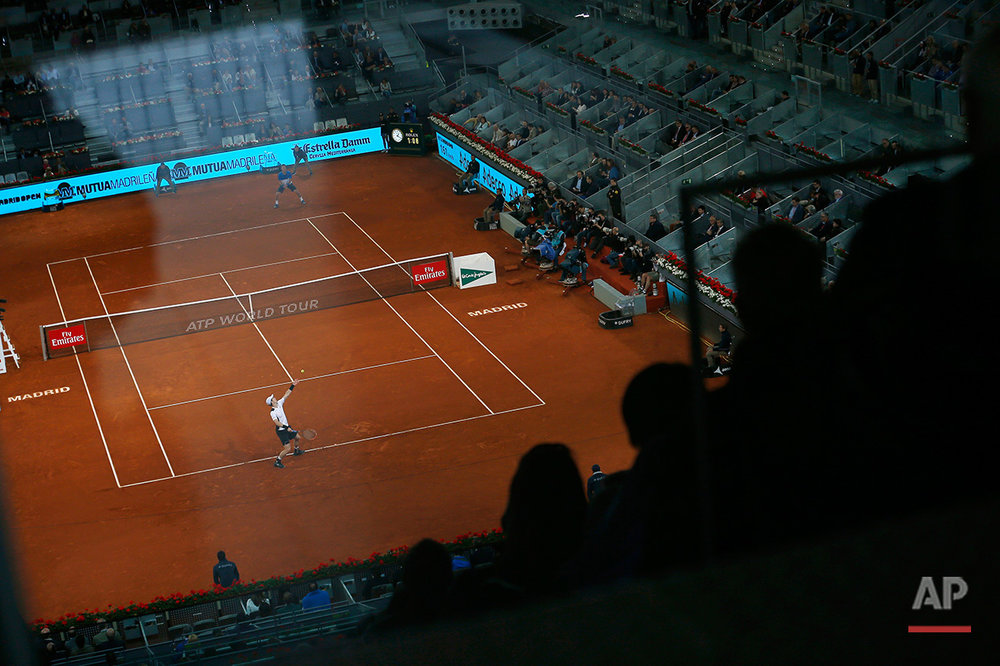 Spain Tennis Madrid Open