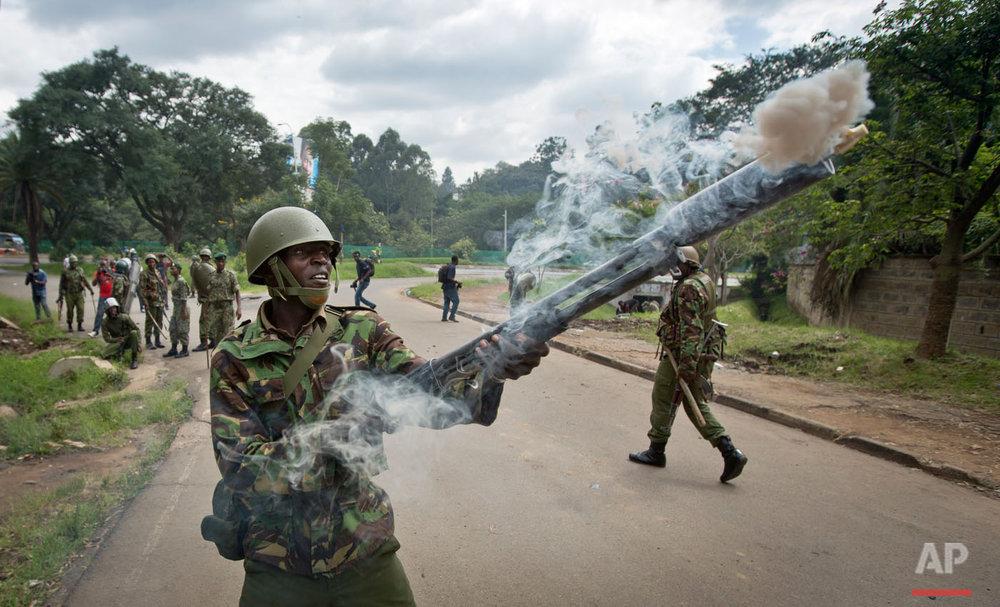 APTOPIX Kenya Electoral Commission