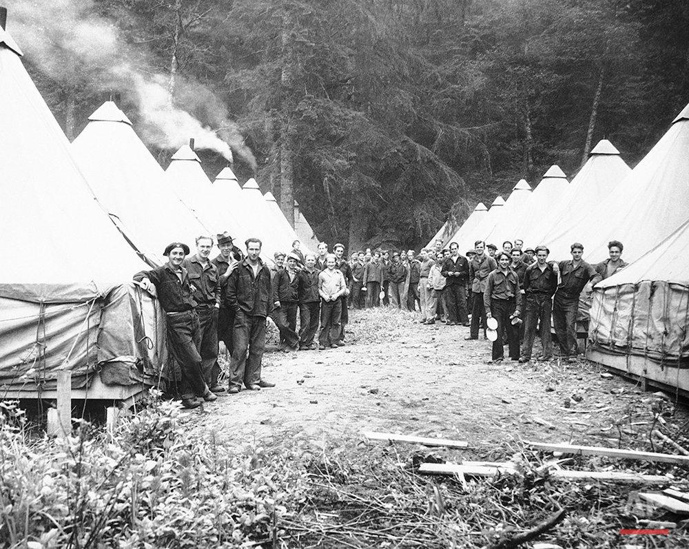 Rainier National Park 1933