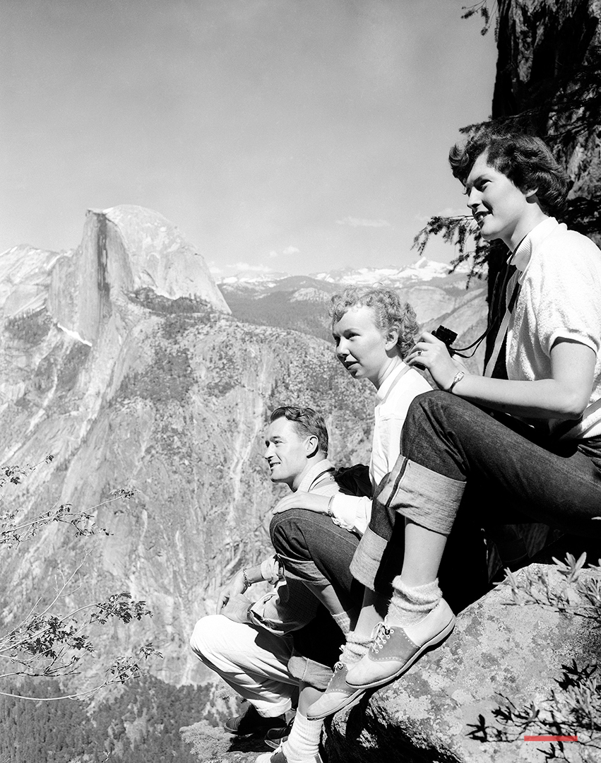 Yosemite National Park 1952