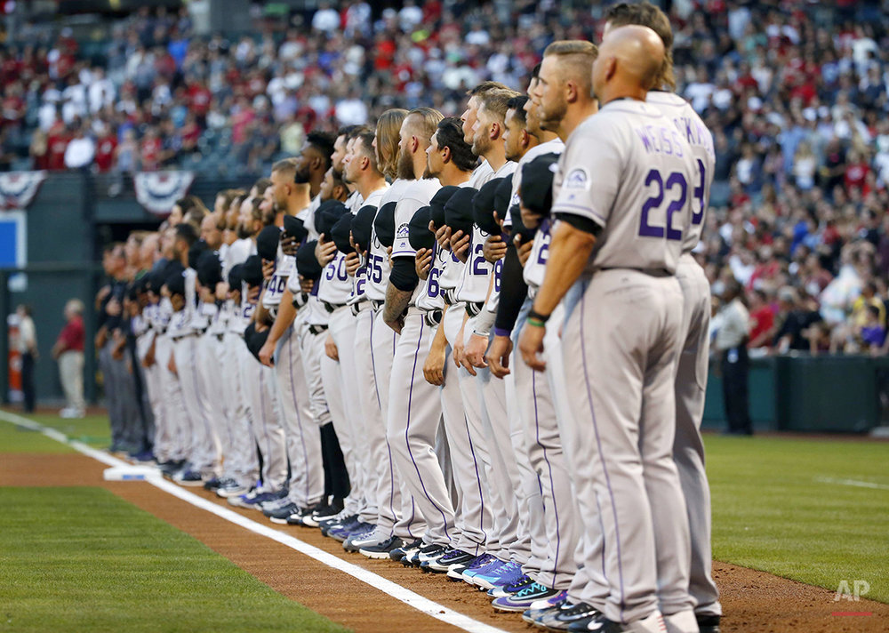 Rockies Diamondbacks Baseball