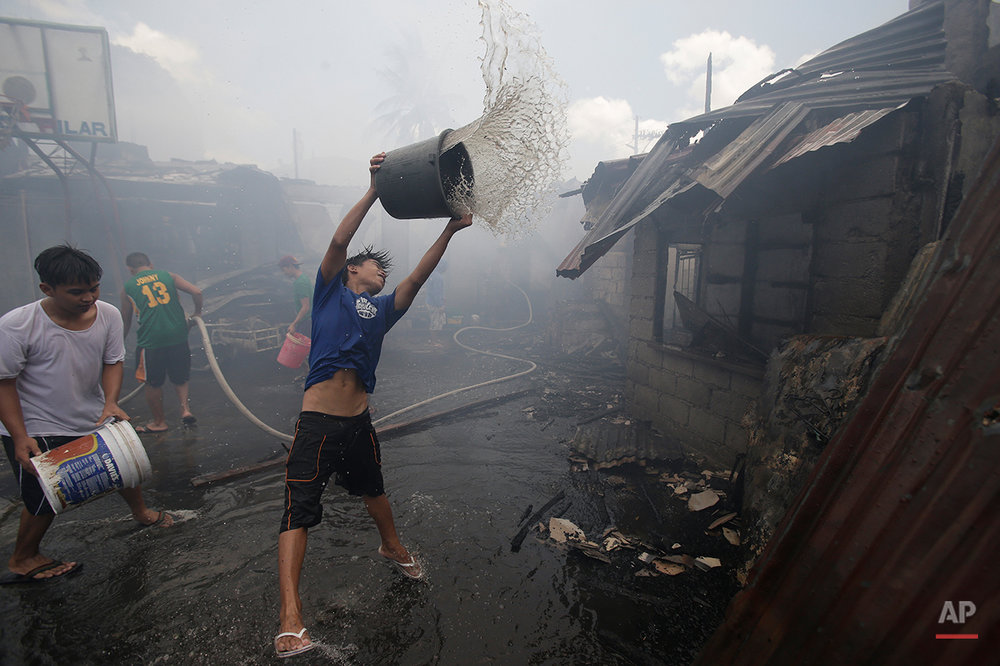 Philippines Fire