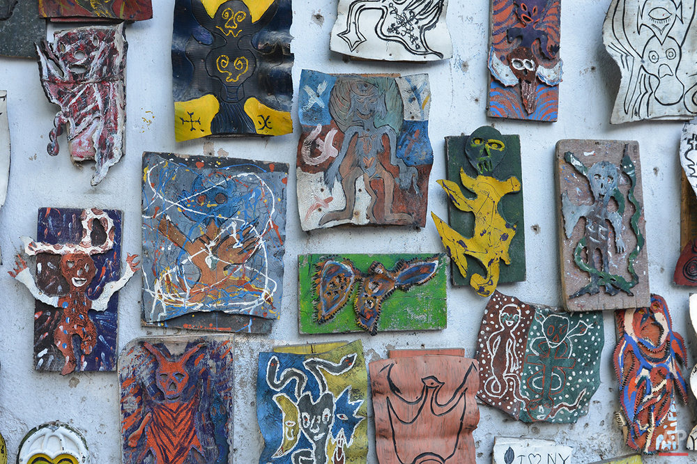 Haiti Scrap Sculpture