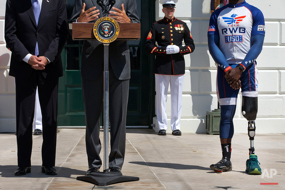 Obama Wounded Warrior Ride