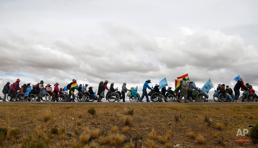 APTOPIX Bolivia Protest