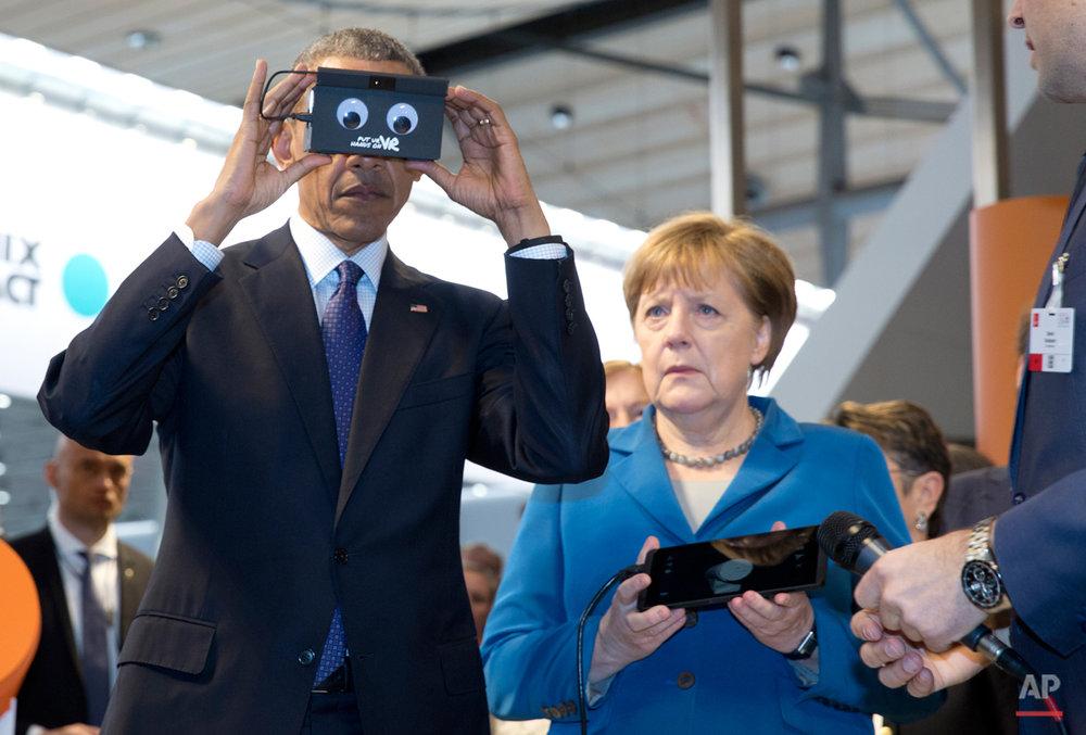 APTOPIX Germany Obama