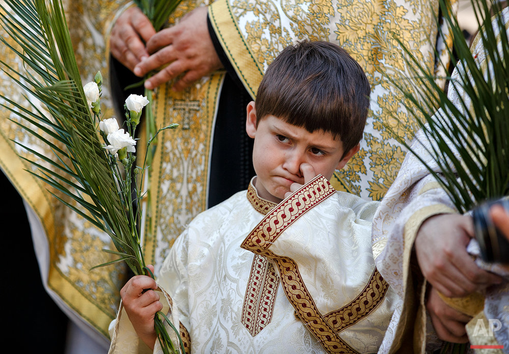 Romania Orthodox Palm Sunday Photo Gallery