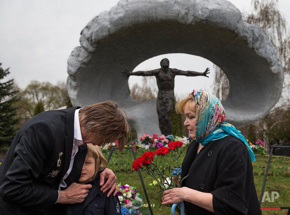 APTOPIX Russia Chernobyl Anniversary
