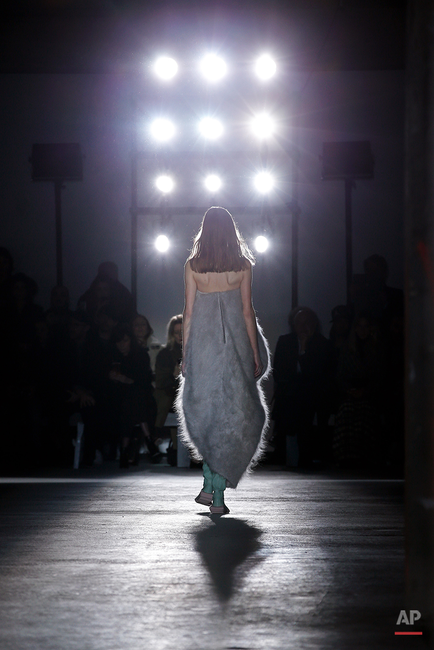 Paris Fashion Rick Owens