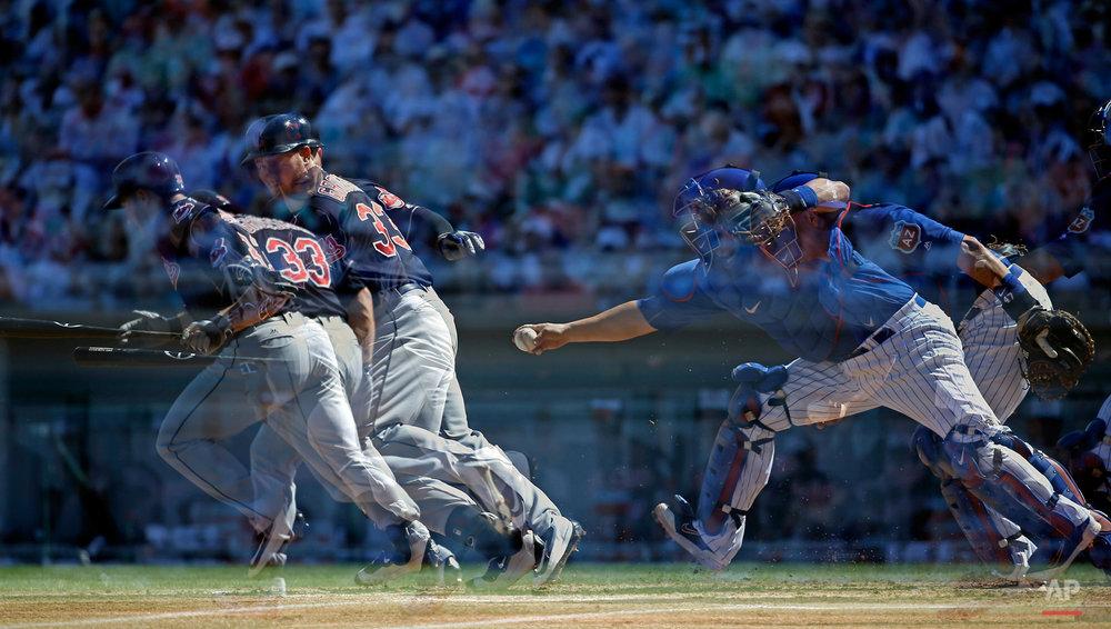 Indians Cubs Spring Baseball