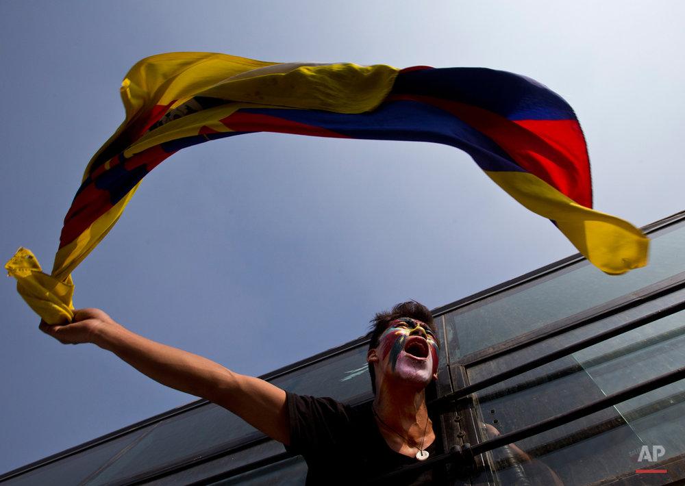 India Tibetan Protest