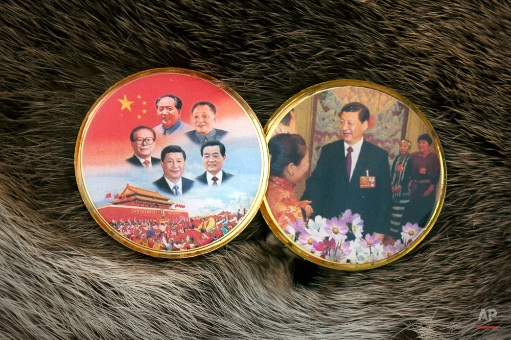 China Conclave Xi Pins