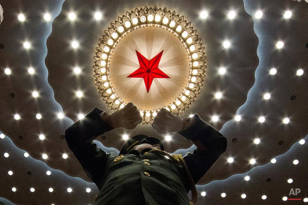 APTOPIX China Conclave Economy