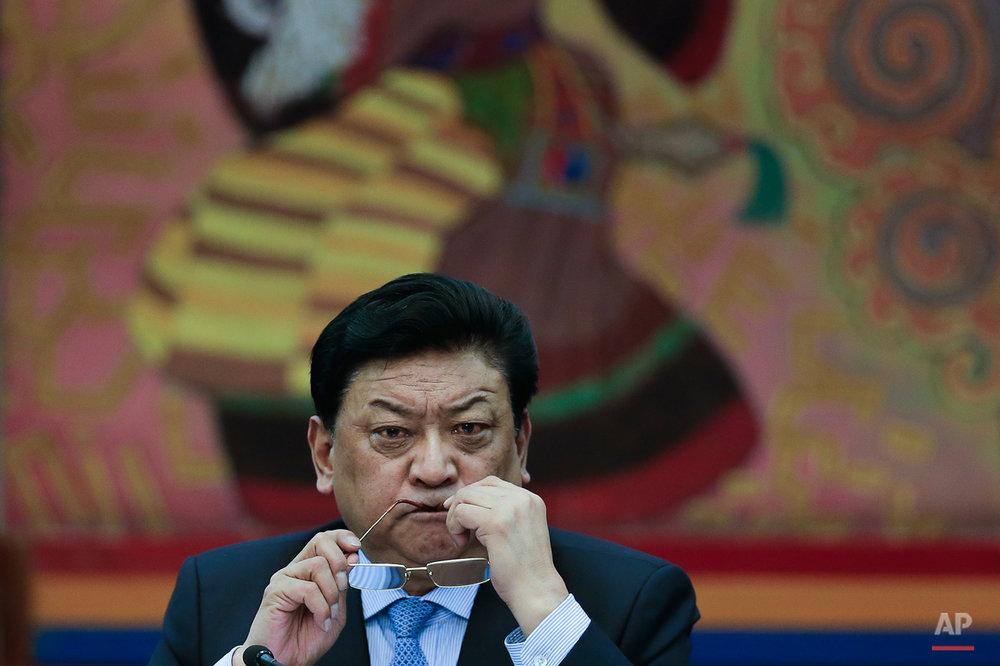 APTOPIX China Conclave Tibet