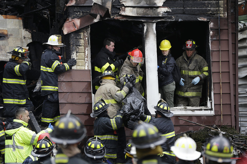 New Jersey House Fire