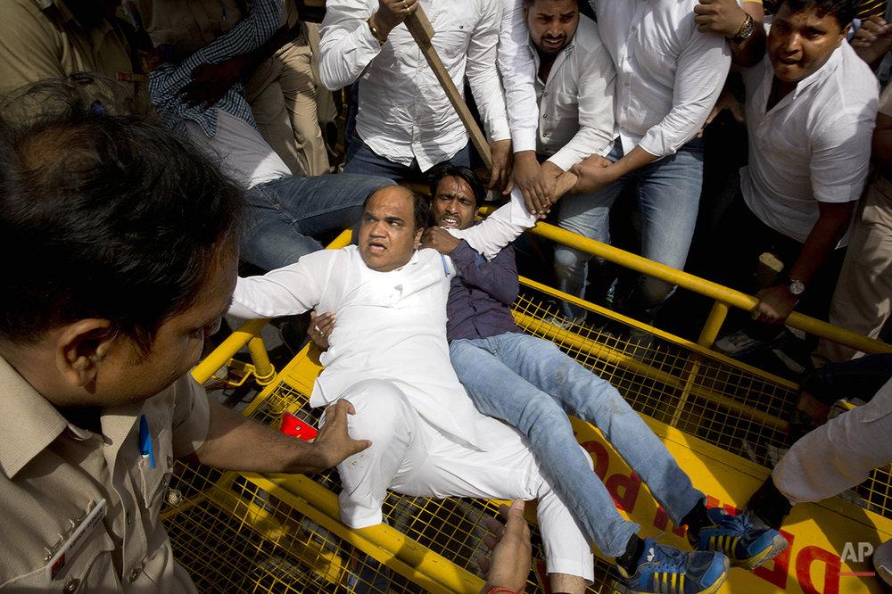 India Mallya Protest