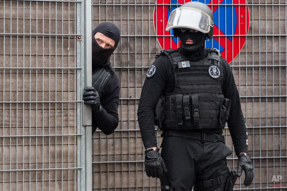 Belgium Police Search