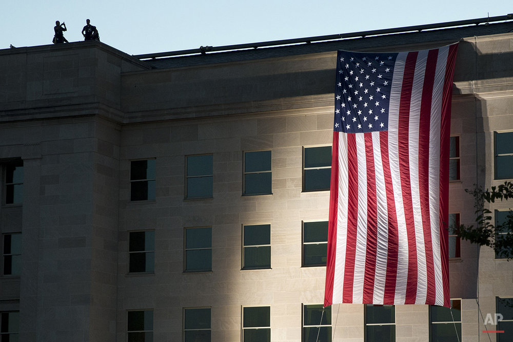 Pentagon Sept 11 Anniversary