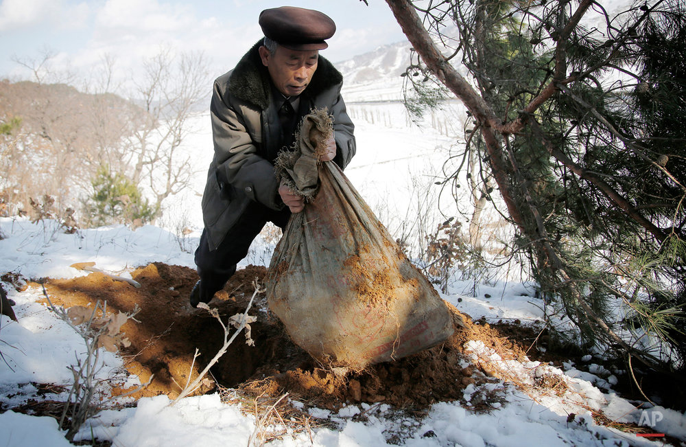 North Korea Forsaken Remains