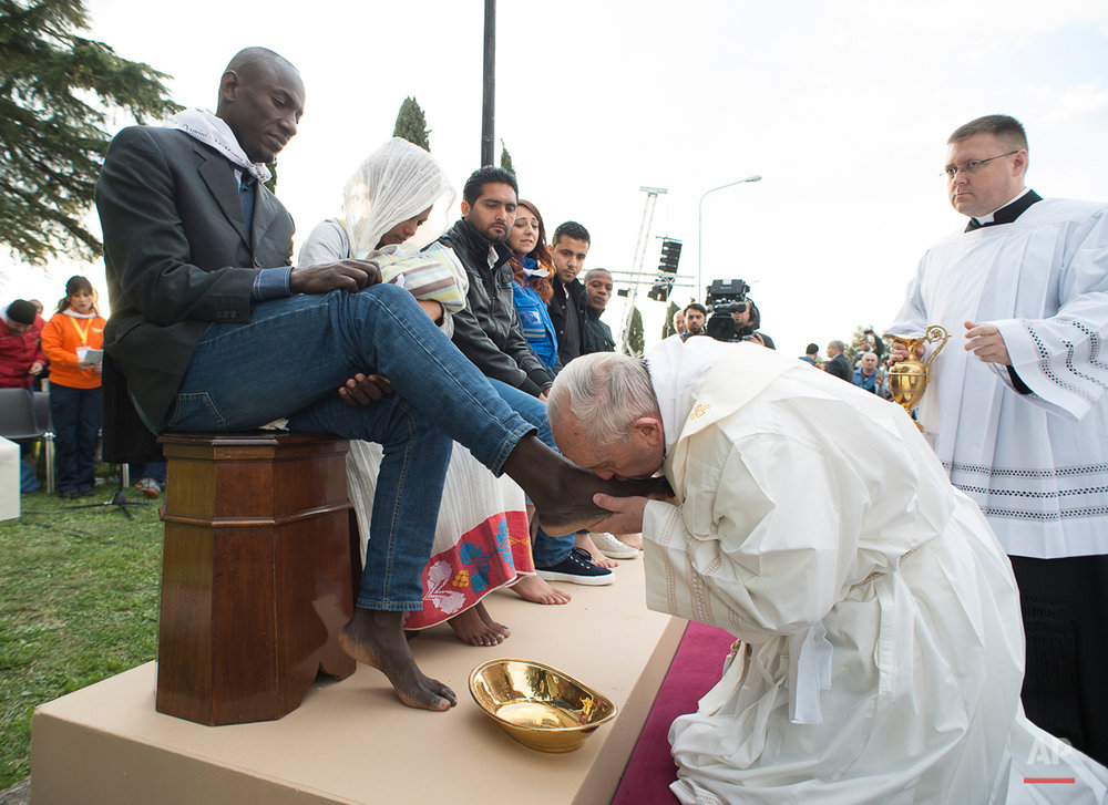 Pope Holy Thursday